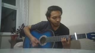 İlyas Yalçıntaş-Bu Nasıl Veda Gitar Cover(Orjinal Ton,Akor Ve Solo)