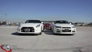 JDM EXPO GTR Generation Demo Cars