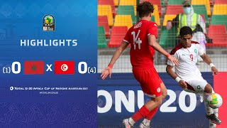 CAN U20 2021​ | Quart de final : Maroc 0 (1) – (4) 0 Tunisie