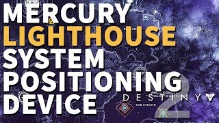 The Lighthouse System Positioning Device Mercury Destiny 2