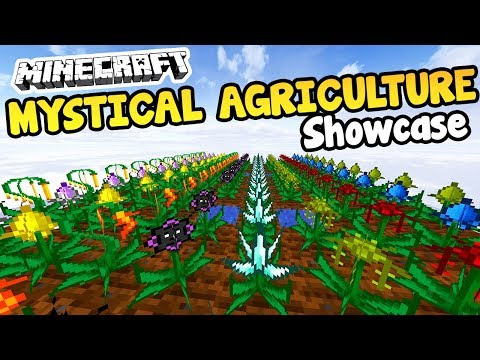 Mystical Agriculture Mod - GROW ANYTHING AND EVERYTHING • Minecraft Mod Showcase