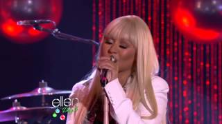 Christina Aguilera & Blake Shelton - Just A Fool (Live)