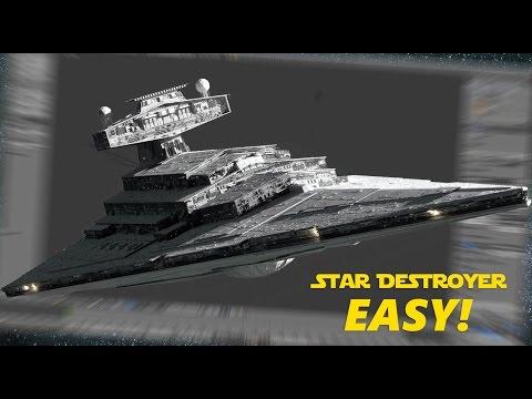 Star Wars Blender Tutorial | Star Destroyer 1 of 2