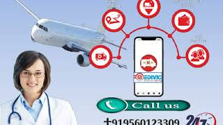 Life Sustaining Air Ambulance Service in Silchar and Guwahati by Medivic