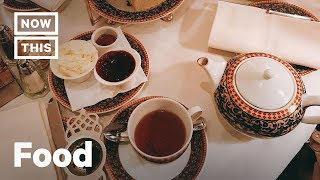 English Afternoon Tea Etiquette | Cuisine Code | NowThis