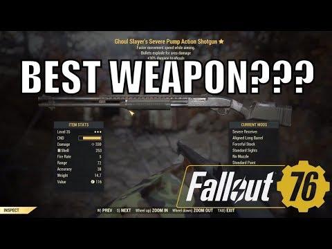 Fallout 76 Weapon Spotlight: Executioner's Grognak's Axe - смотреть