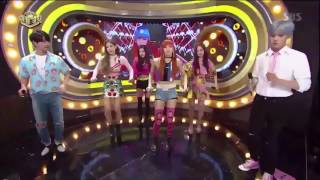 170625 SBS INKIGAYO COMEBACK - BLACKPINK AS IF ITS YOUR LAST (미지막 처럼) POINT DANCE