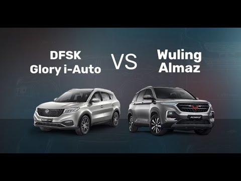 DFSK Glory i-Auto vs Wuling Almaz | Review | Pilih Yang Mana? | OTO.com