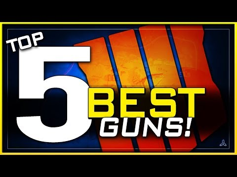 Top 5 Best Guns in Black Ops 4 Multiplayer! (May, 2019)
