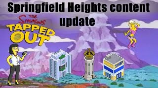 The Simpsons: Tapped Out Springfield Heights Update Review