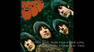 The Beatles - Rubber Soul - Entire album in one song