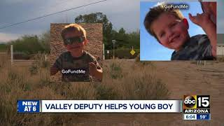 Maricopa County deputy helps Queen Creek family after near-drowning call