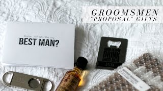 Groomsmen Proposal Gifts