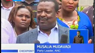 Mudavadi calls for IEBC's intervention amid voter bribery claims in Kibra