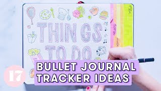 Bullet Journal Tracker Ideas | Plan With Me