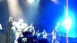 JLS out of this world tour - SUPERHERO feat Titan the Robot