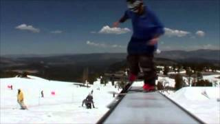 """Wizard Tricks and Alien Grinds with Andy Parry """"Ski Slide"""""""