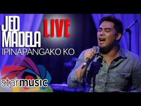 Jed Madela – Ipinapangako Ko (LIVE)