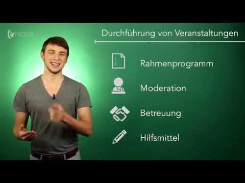 Veranstaltungen richtig durchführen   Wissen für die Ausbildung   Prozubi.de
