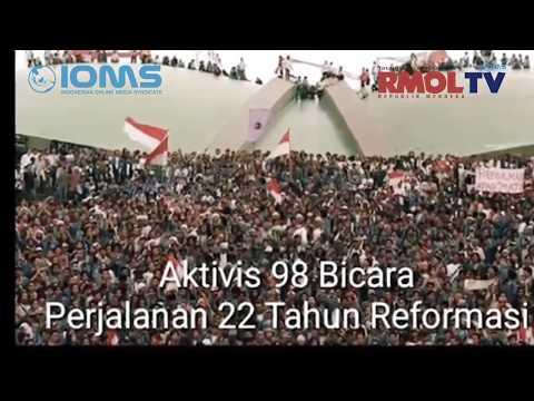 Aktivis 98 Bicara Perjalanan 22 Tahun Reformasi