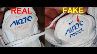 air max 270 react original vs fake