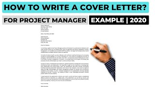 How To Write A Cover Letter For A Project Manager Position? (2020) | Example