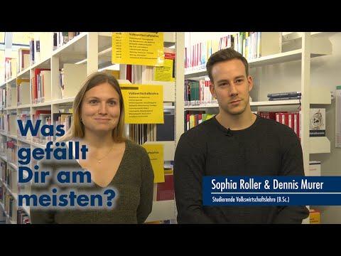 Thumbnail YouTube Video mit Foto den Studierenden und der Frage: Was gefällt Euch am meisten?