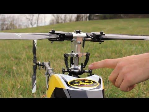 Fyzika helikoptér #2: Řízení helikotpéry