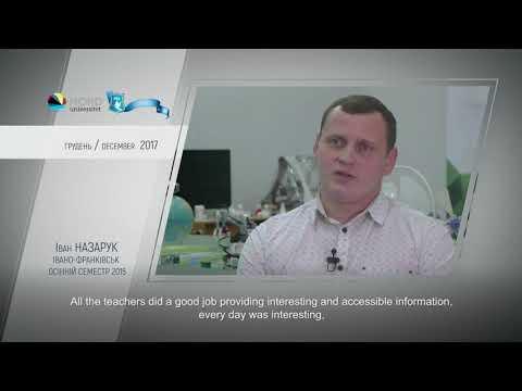 Video feedback of Ivan Nazaruk, graduate of the Ukraine-Norway project