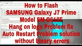 how to flash android phone samsung j7 prime - Kênh video