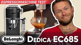 DeLonghi Dedica EC685 im Test   Was kann die billige Espressomaschine