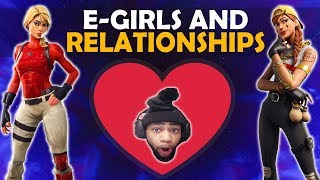 E  GIRLS AND RELATIONSHIPS