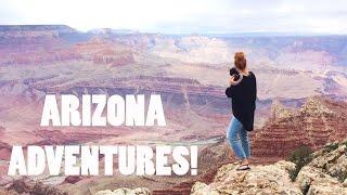 FLYING INTO THE GRAND CANYON!!! | Arizona Vacation