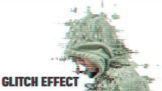 אפקט הגליץ' בפוטושופ - Glitch Effect Photoshop Tutorial