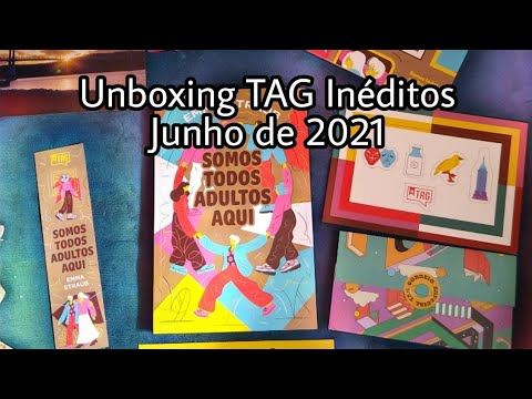 Unboxing TAG Inéditos ? | Somos todos adultos aqui