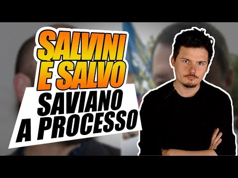 Salvini è salvo, Saviano a processo, la MareJonio è ferma