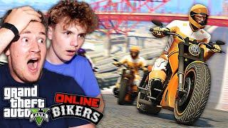 JOINING A BIKER GANG IN GTA 5