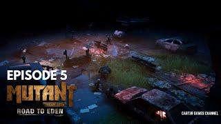 """БИТВА В ТОННЕЛЕ. ГОЛОСА В МОЕЙ ГОЛОВЕ. """"Mutant Year Zero: Road to Eden"""" №5"""
