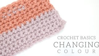 CROCHET BASICS: Changing colour | Bella Coco