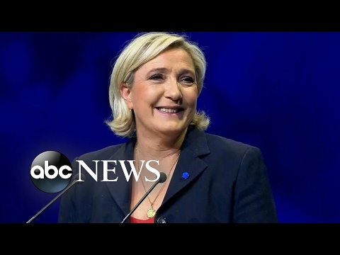 French presidential candidate Marine Le Pen and Europe's far-right movement