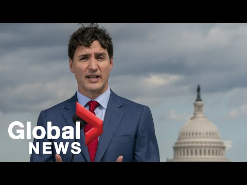 Trudeau holds press conference after Trump meeting   LIVE