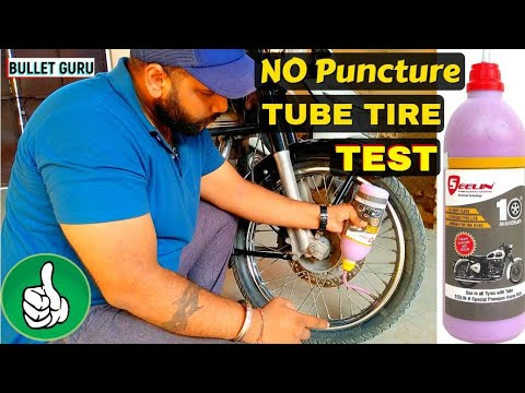 Anti Puncture Tyre sealant for Royal Enfield