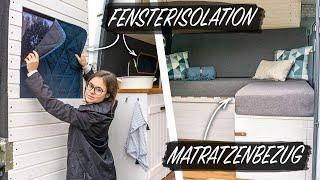 DIY FENSTERISOLATION & MATRATZENBEZUG   Einfach und günstig selber nähen   S1 E12