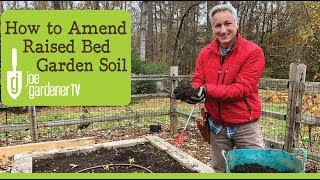 How to Amend Raised Bed Garden Soil for Continued Health