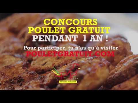 Concours Piri Piri: 1 an de poulet gratuit à gagner!