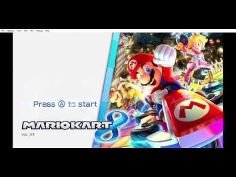 Mario Kart 8 Multiplayer gameplay - Cemu 1 12 0 (Intel GPU