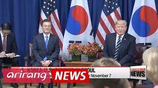 Blue House confirms U.S. President Donald Trump