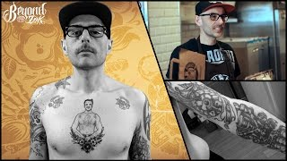 Tattoo itw with Stéphane – East Side Burgers