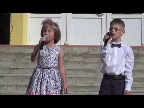 Песня Учат в школе Захаров Ярослав и Аня Шляхотка