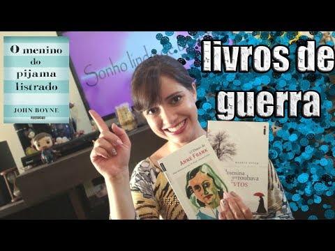 LIVROS EPOCA DE GUERRA | Sonho Lindo de um Leitor #17